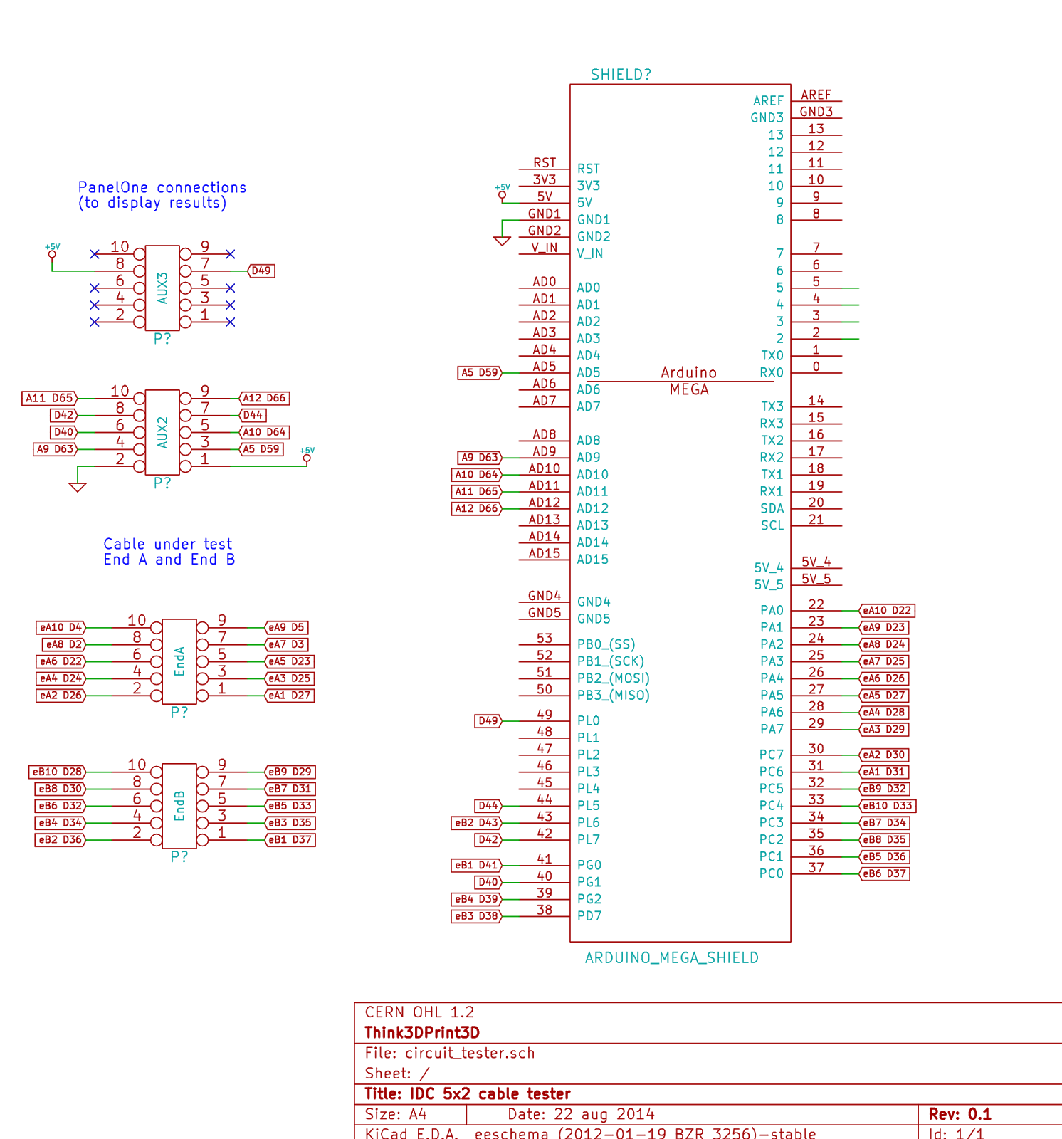 hight resolution of it uses the internal pullup resistors on the arduino pins so no external components are required other than the connecting wires and headers