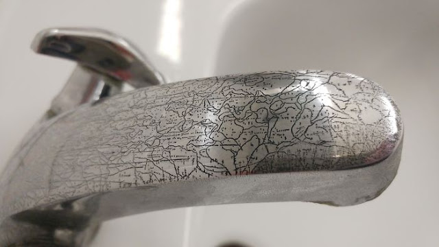The Corrosion On This Water Tap Looks Like A Map