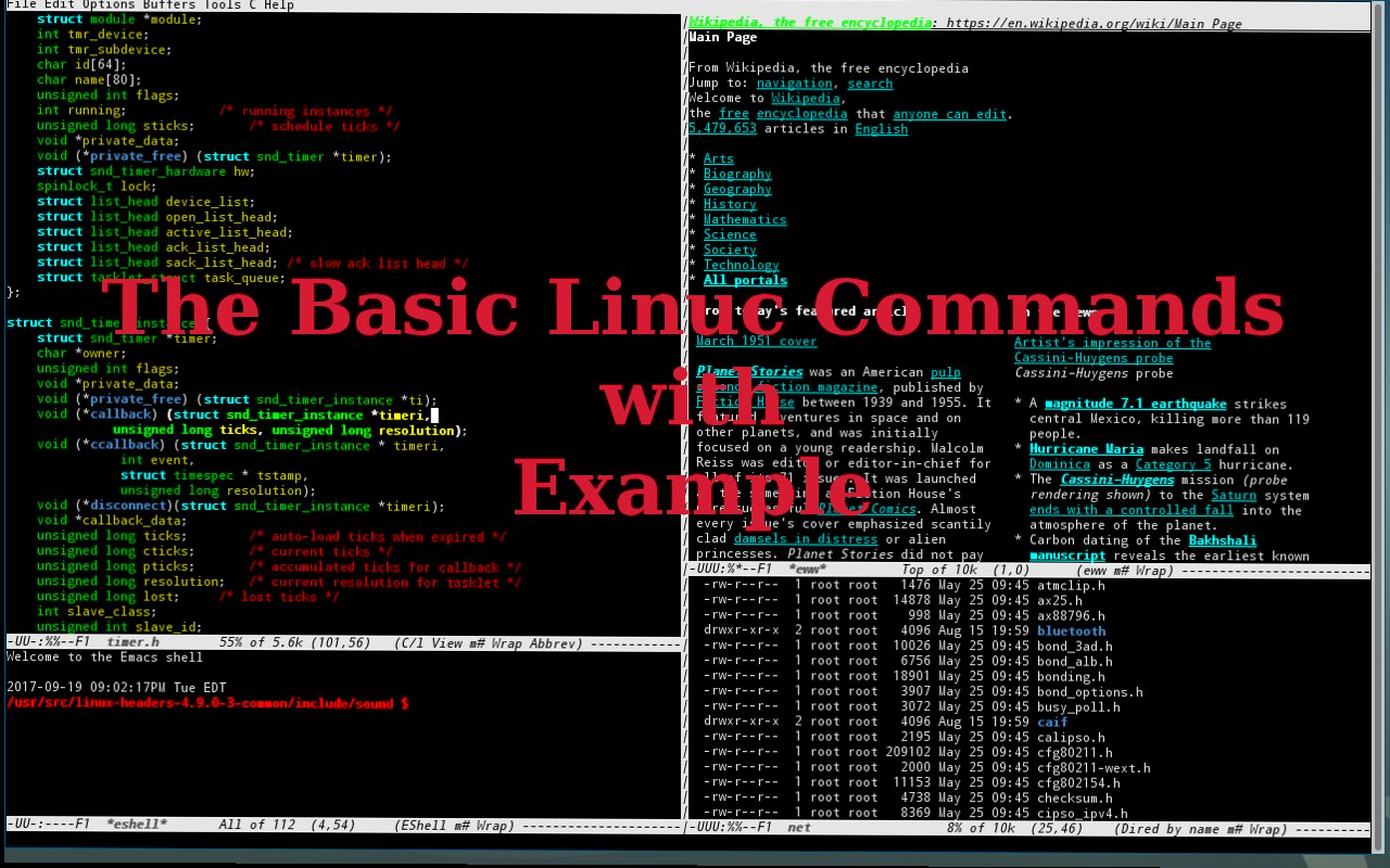 basic linux commands list with example - learn free ethical hacking