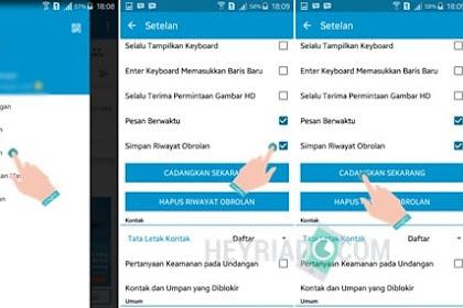 Cara Backup dan Restore Chat BBM Android