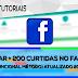 Como Ganhar +200  Curtidas, No Facebook(Funcional Método ) Atualizado 2017