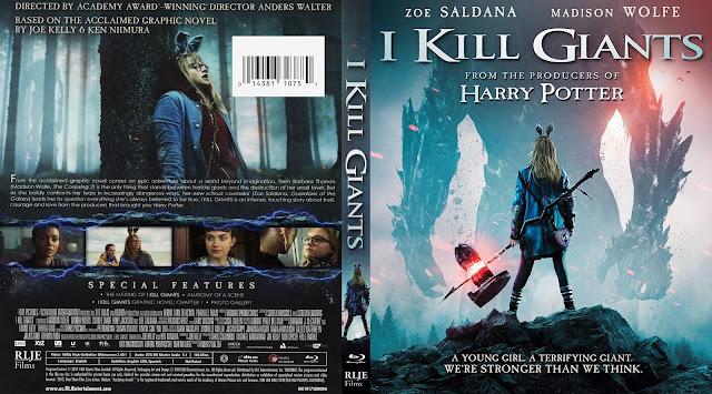 I Kill Giants (scan) Bluray Cover