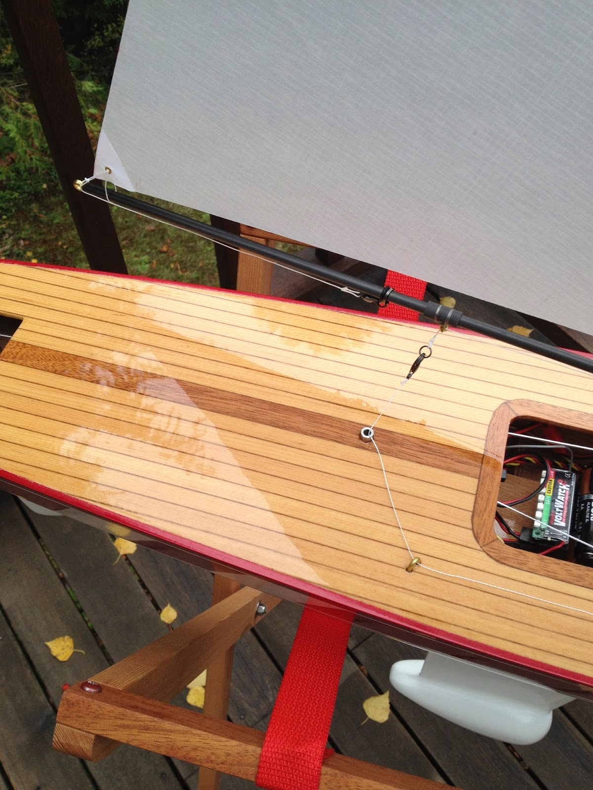 T37 Rc Sailboat For Sale And Sail