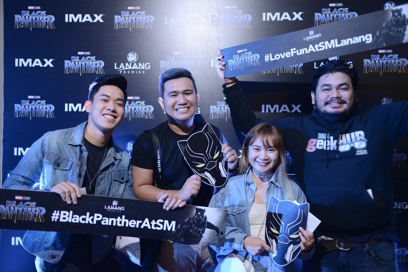 SM Lanang Premier Black Panther Advance Screening