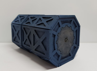 Imperial Armoured Containers kit from Kromlech