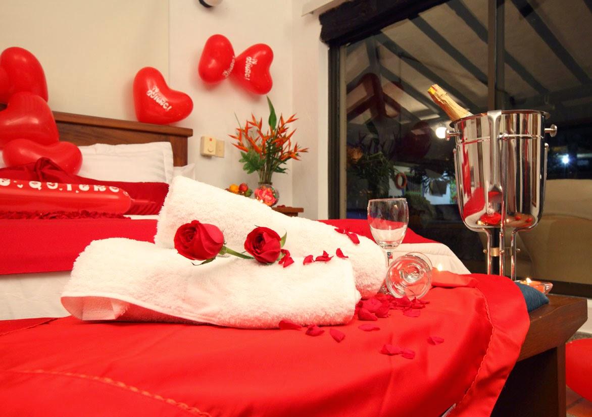 Como decorar una habitacion romantica con globos y rosas - Imagenes de decoracion de habitaciones romanticas ...