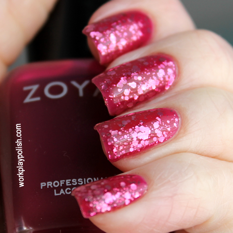 Jelly Sandwich: Zoya Paloma and Essie A Cut Above