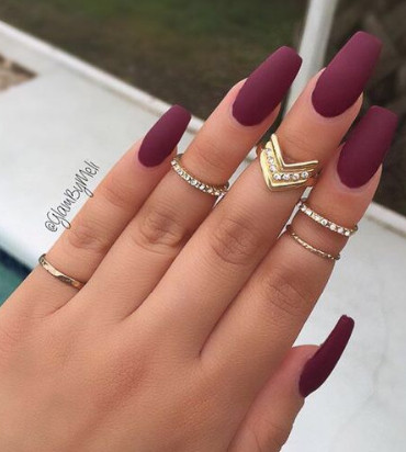Best Nail Color On Brown Skin