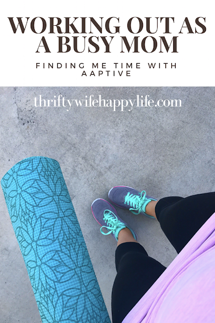 Thrifty Wife, Happy Life- Working out as a busy mom