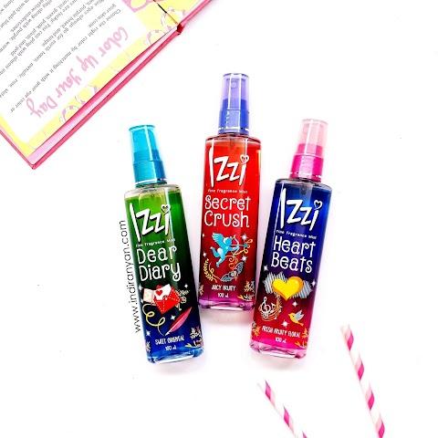 Hari Lebih Menyenangkan dengan IZZI Fine Fragrance Mist