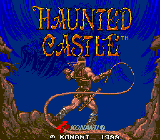 Haunted House Browser Game: Super Adventures In Gaming: Haunted Castle (Arcade