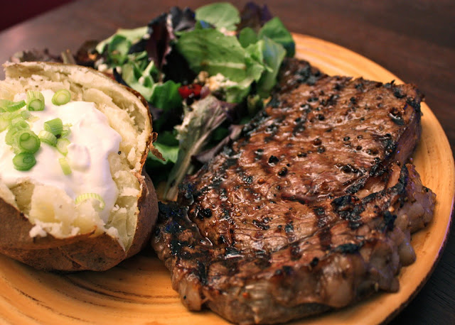 Have Her Over For Dinner: Grilled Ribeye Steaks with Sour ... | 640 x 458 jpeg 99kB