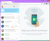 WhatsApp versi web
