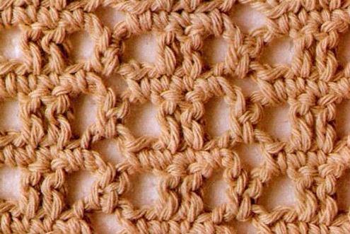 Patrón 943 Punto Calado a Crochet