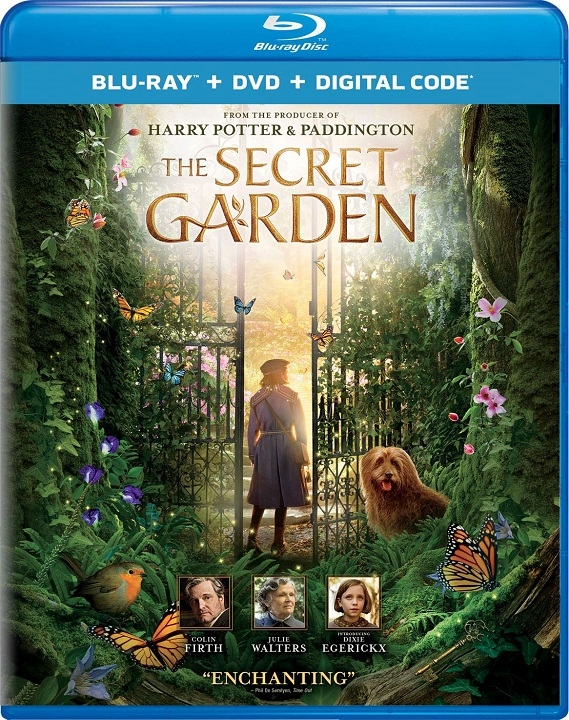 THE SECRET GARDEN Available on Blu-ray and DVD October 6 (Universal)