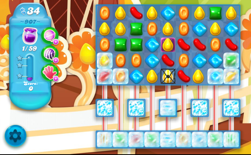 Candy Crush Soda Saga 907