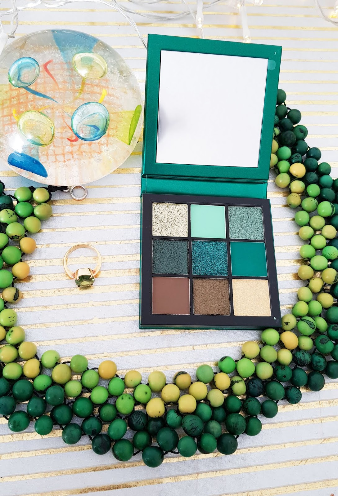 Not just for millennials: the Huda Beauty Emerald Obsessions palette