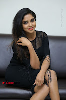 Telugu Actress Karunya Chowdary Latest Stills in Black Short Dress at Edo Prema Lokam Audio Launch .COM 0218.JPG