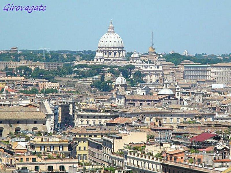 Il pi bel panorama su Roma dalla terrazza delle Quadrighe