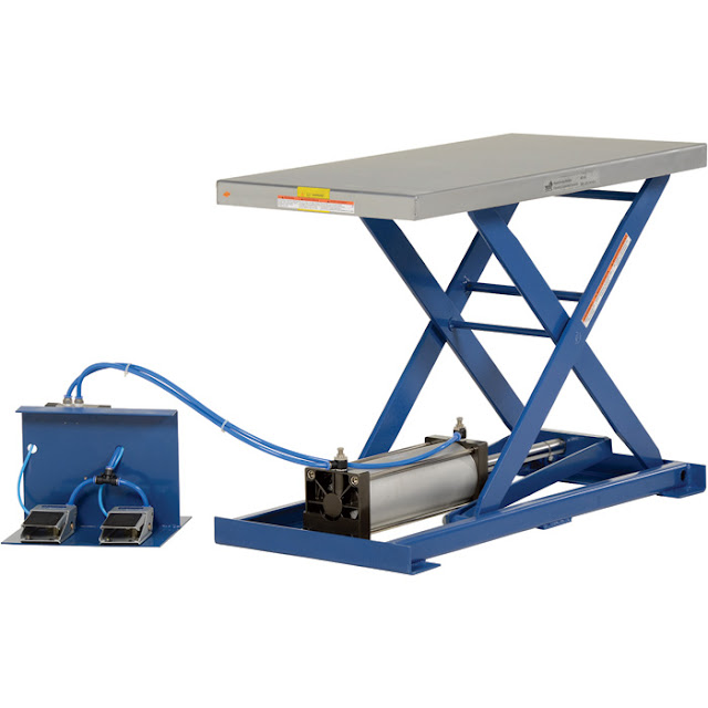 DESIGN AND FABRICATION OF PNEUMATIC LIFTING TABLE