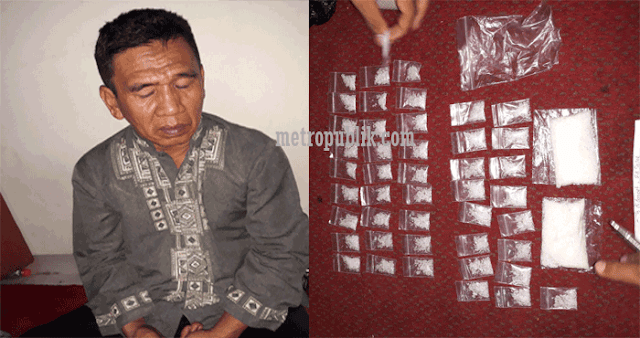 Kasat Resnarkoba Bersama Tim Macan Polres Makassar  Ringkus Pengedar Narkoba