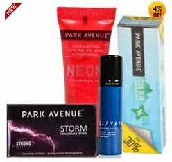 Shopclues Jaw Dropping Deal: Park Avenue Combo (Pack of 4) worth Rs.157 for Rs.88 Only (Free Home Delivery)