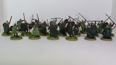Rohan Warriors (Throwing Spears)