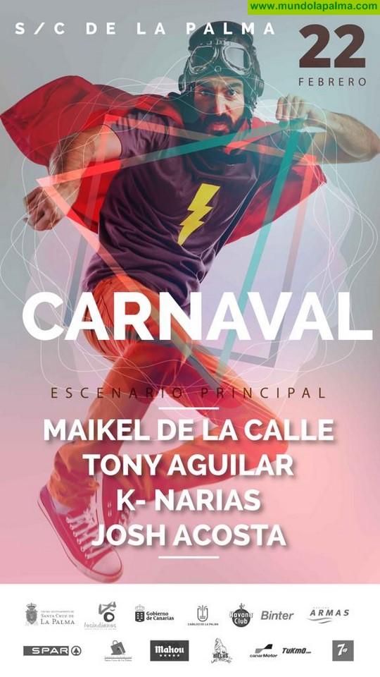 Más de 10 horas de música en la Gran Fiesta del Carnaval