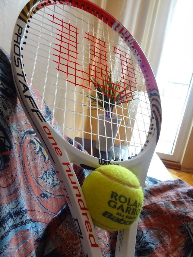 Wilson Pro Staff Six-One 100 Lite BLX tennis racket test