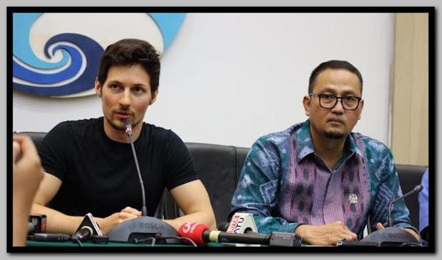 Pavel Durov mengikuti aturan pemerintah, sepakat menangani konten negatif