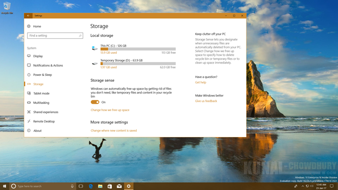 Windows 10 now lets you easily delete your older version of Windows (www.kunal-chowdhury.com)
