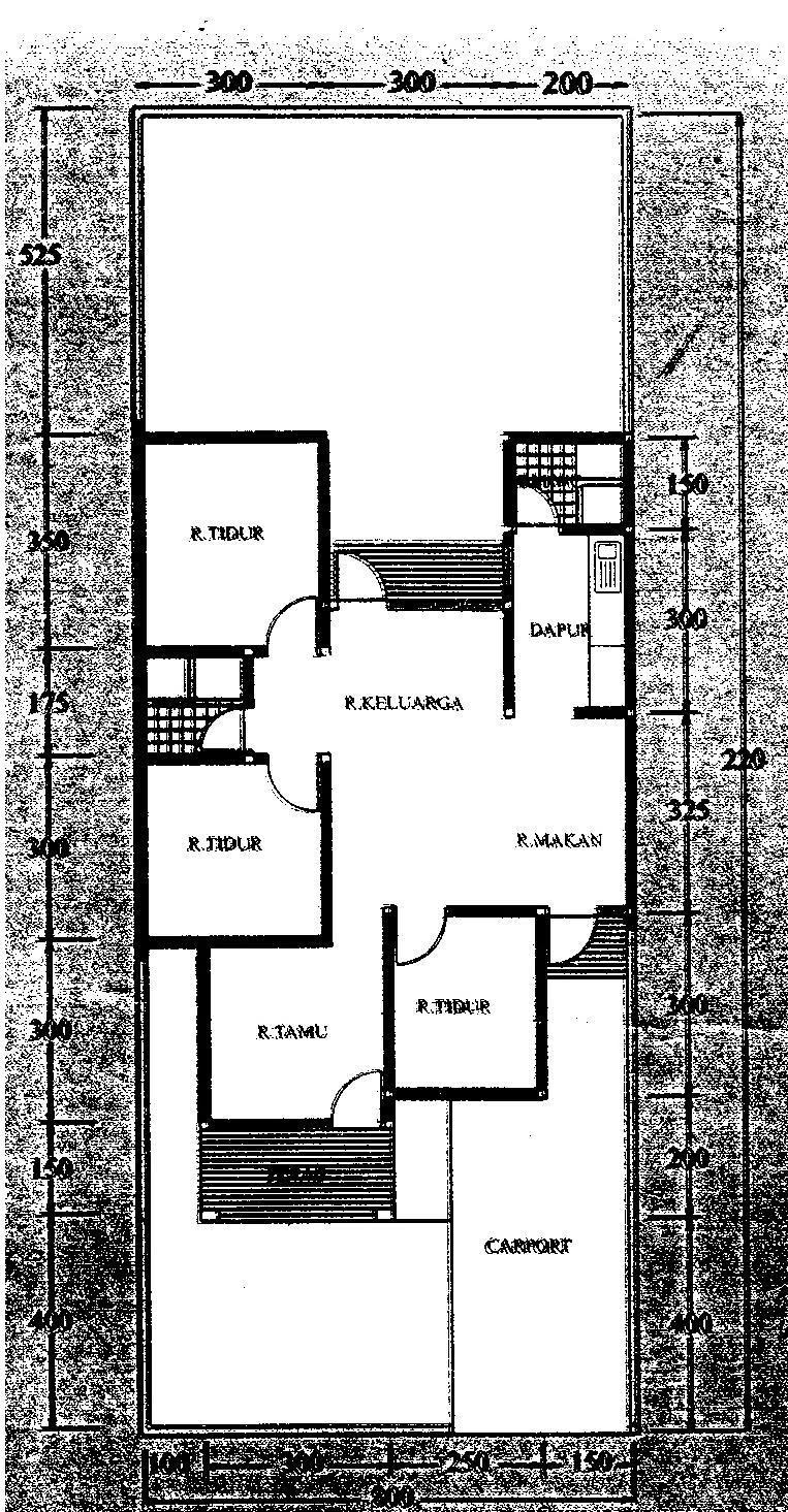 Cara Gambar Denah Rumah Dengan Corel