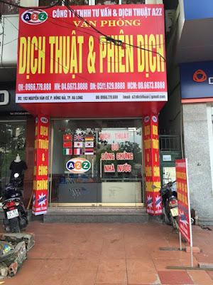 Dịch thuật huyện Quảng Điền - Thừa Thiên Huế giá rẻ cạnh tranh uy tín chất lượng