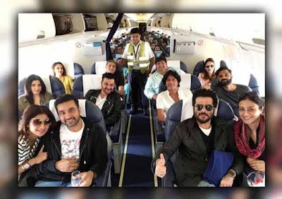 Shilpa Shetty, Raj Kundra, shilpa shetty Kundra trip to indore, Tabu, Anil Kapoor, Suniel Shetty, Chunky Pandey, Huma Qureshi