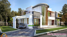 Modern Villa Plan - Kerala Home Design And Floor Plans
