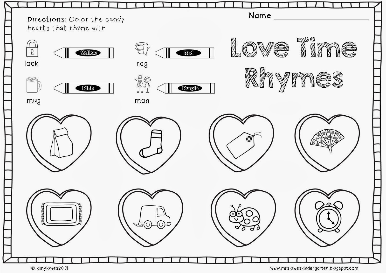 mrs lowes 39 kindergarten korner no prep valentine 39 s day math and literacy printables giveaway. Black Bedroom Furniture Sets. Home Design Ideas