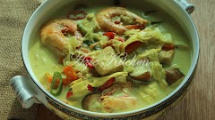 Lontong Dan Kuah Lodeh Azie Kitchen Yang Paling Sedap