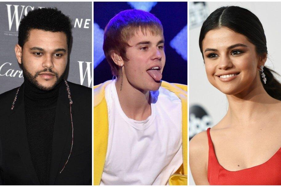 Justin Bieber se burla de The Weeknd durante transmisión en vivo