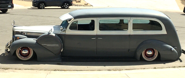 RodCityGarage: 1940 Packard Bagged Henney Ambulance