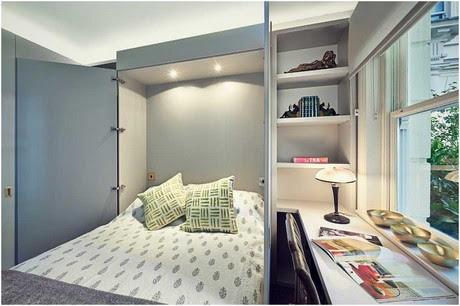 Kleines-Übergangs-Gästezimmer-Ideen-mit-Schreibtisch-Stuhl-und-ziehen-Sie-das-Bett