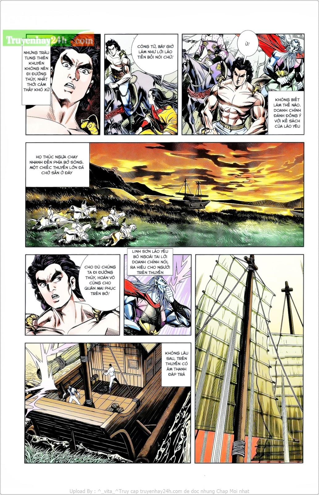 Tần Vương Doanh Chính chapter 26 trang 29
