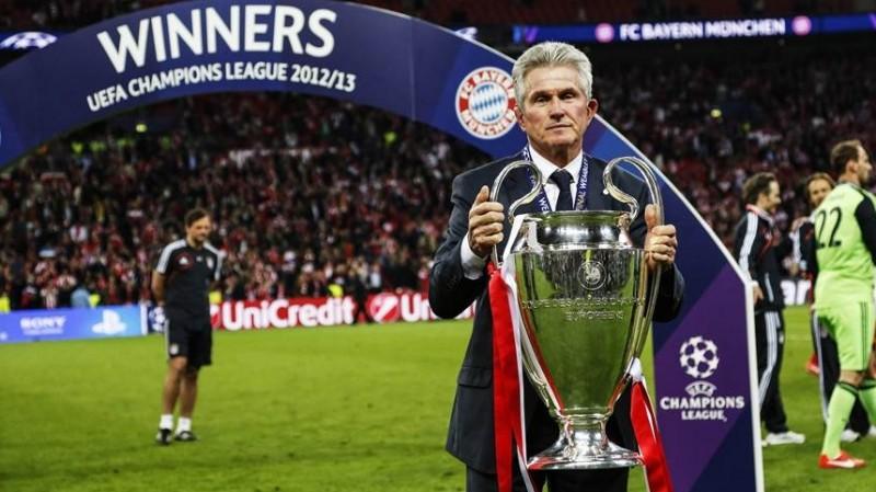 Jupp Heynckes saat membawa Bayern juara Liga Champions 2013