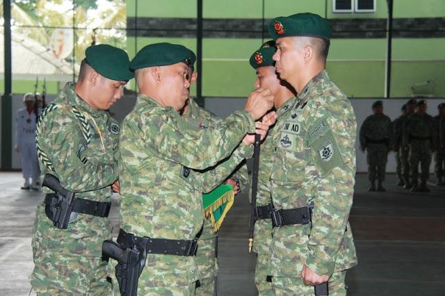Pangdivif 2 Kostrad Pimpin Sertijab Dandenpal dan Dandenpom Divif 2 Kostrad di Malang