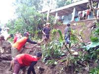 Longsor Terjang Ponorogo, Dua Rumah Warga Ngebel Rusak