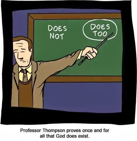 Funny Proof God Exists Lecture - Professor Thompson proves once and for all that God does exist