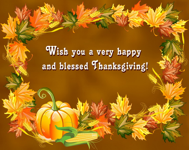 Thanksgiving Day Wishes 2017