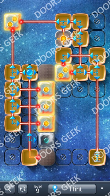 Solution for Laser Box Winter (Advanced) Level 9