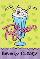 1990s paperback with cartoony ice cream soda illustration and bright colors