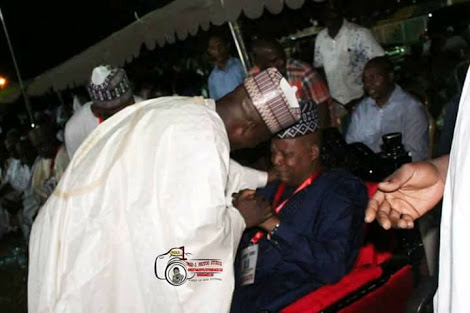 Governor Weeps Openly During APC Primary (Photos)
