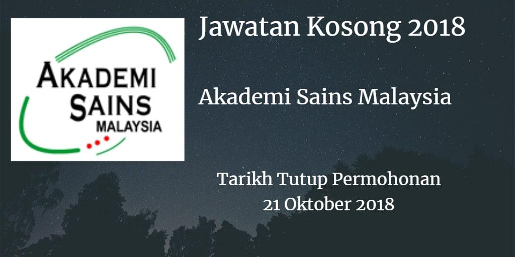 Jawatan Kosong ASM 21 Oktober 2018